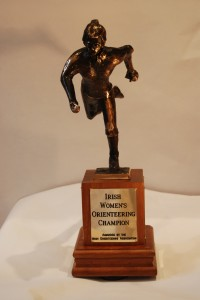 Irish Womens O Trophy - front