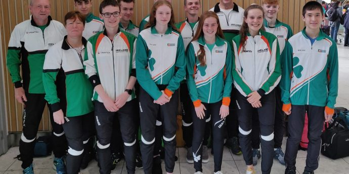 European Youth Orienteering Championship Team Ireland 2019