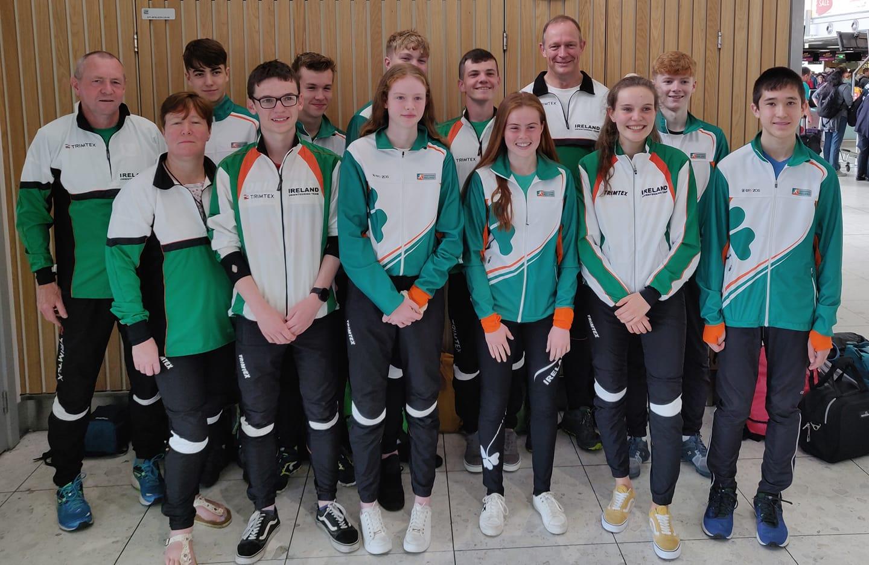 European Youth Orienteering Championship Team Ireland 2019